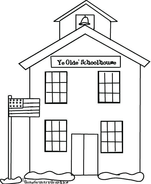 A Haunted House Coloring Pages