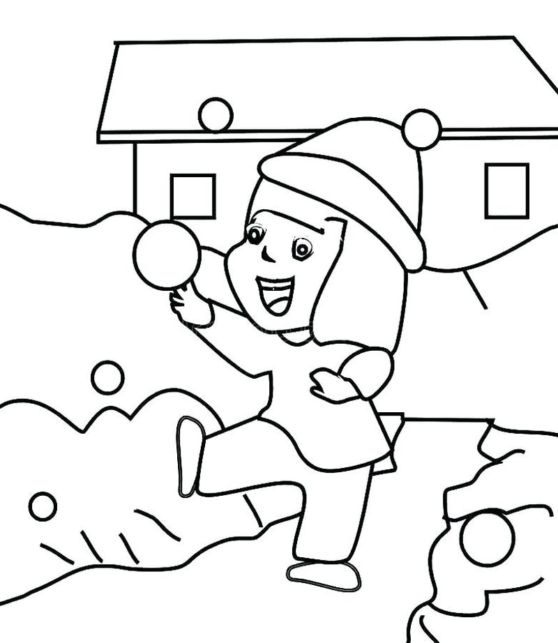 A Picture Of Frosty The Snowman