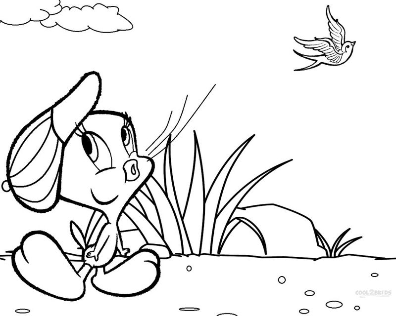 A Tweety Bird Coloring Pages