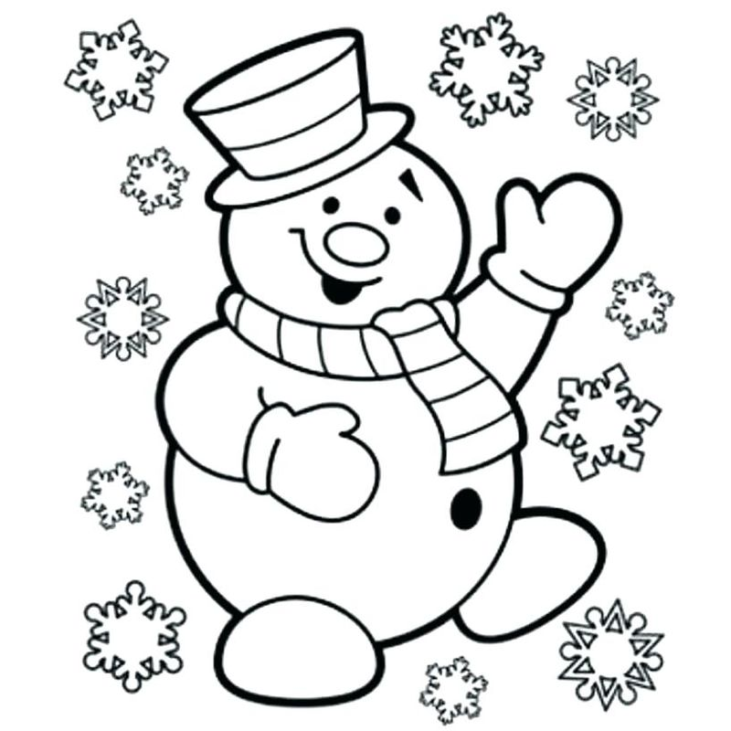 Abominable Snowman Coloring Pages - Printable Coloring ...
