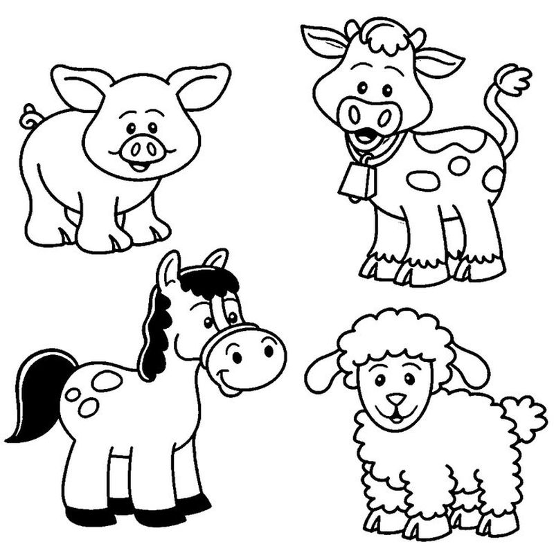 Advanced Coloring Pages Animals