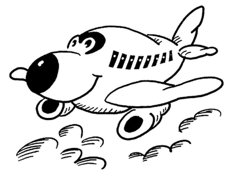 Airplane 3 Coloring Pages