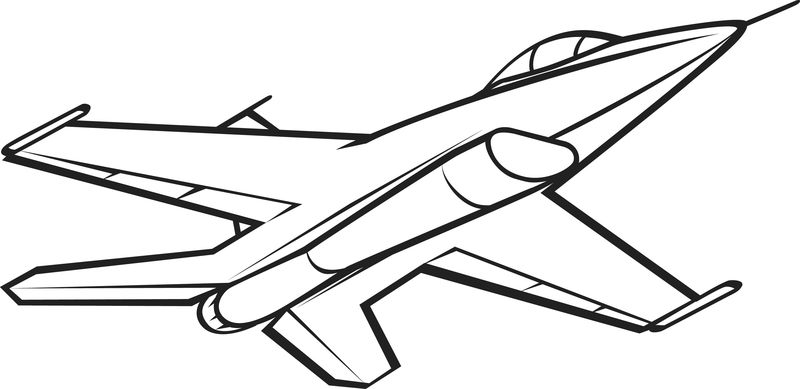 Airplane Coloring Pages Plane