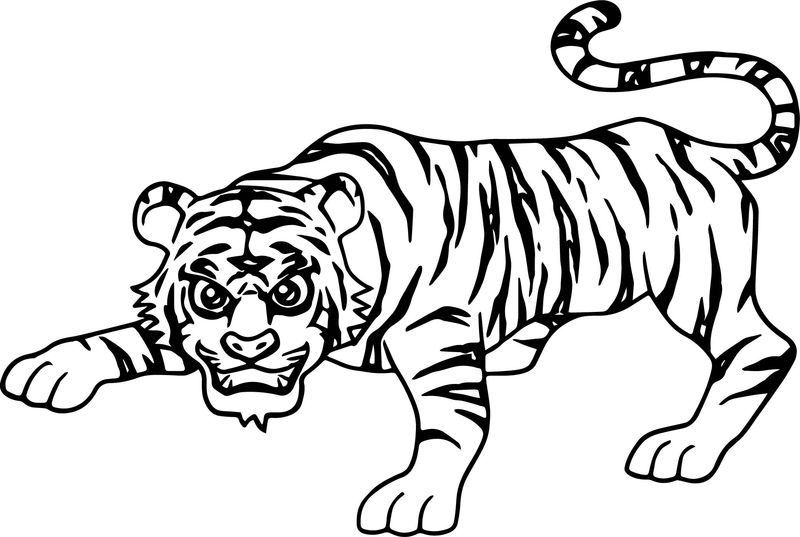 Aladdin Tiger Coloring Pages