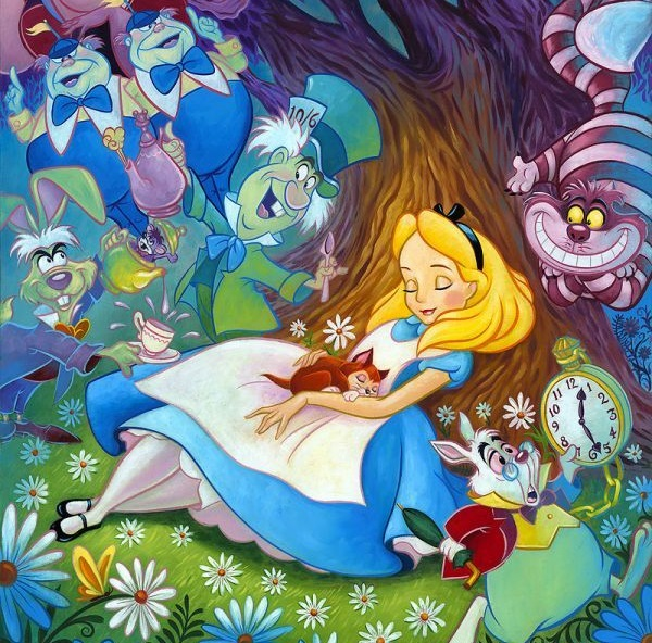 Alice In Wonderland Coloring Pages