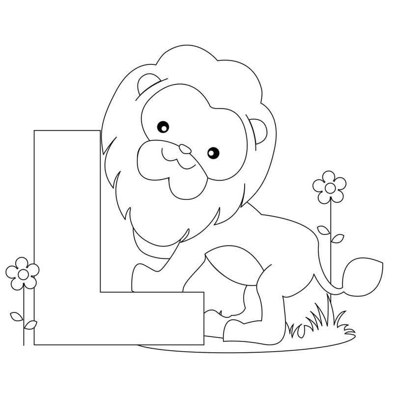 Alphabet Coloring Pages Free Printable