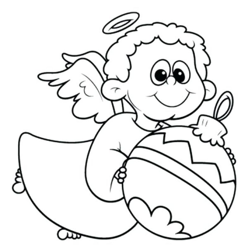 Angel Coloring Pages For Kids