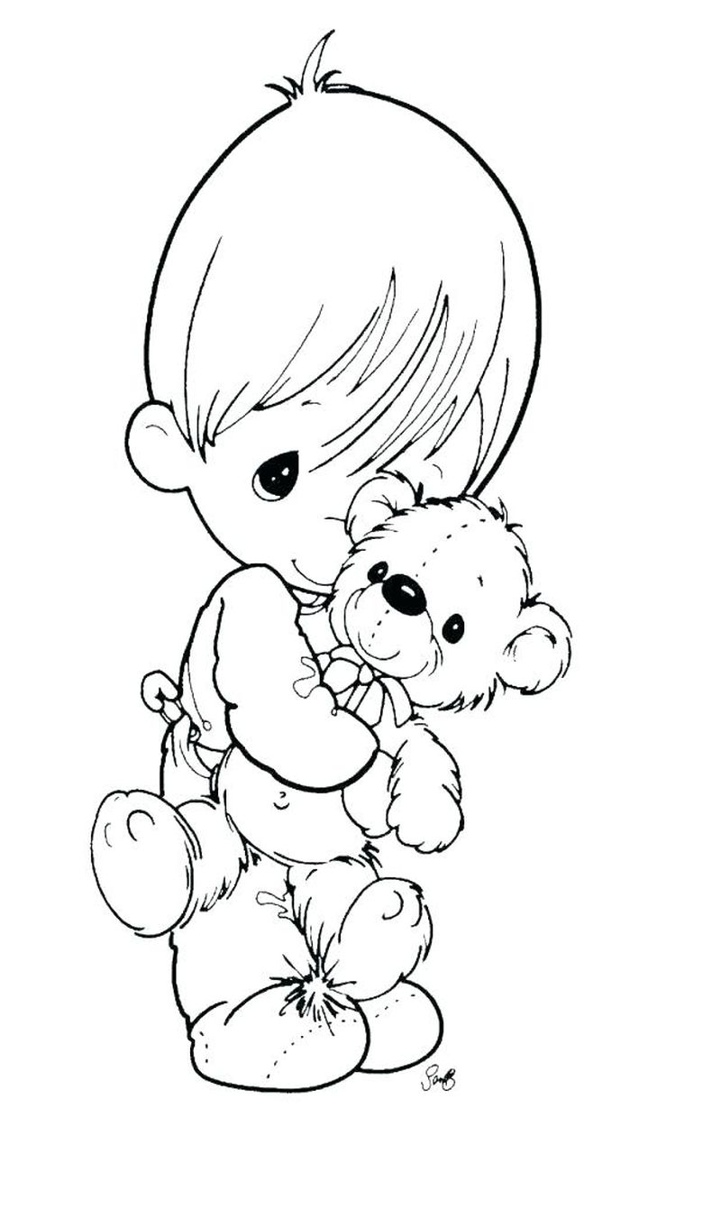 Angel Coloring Pages Images