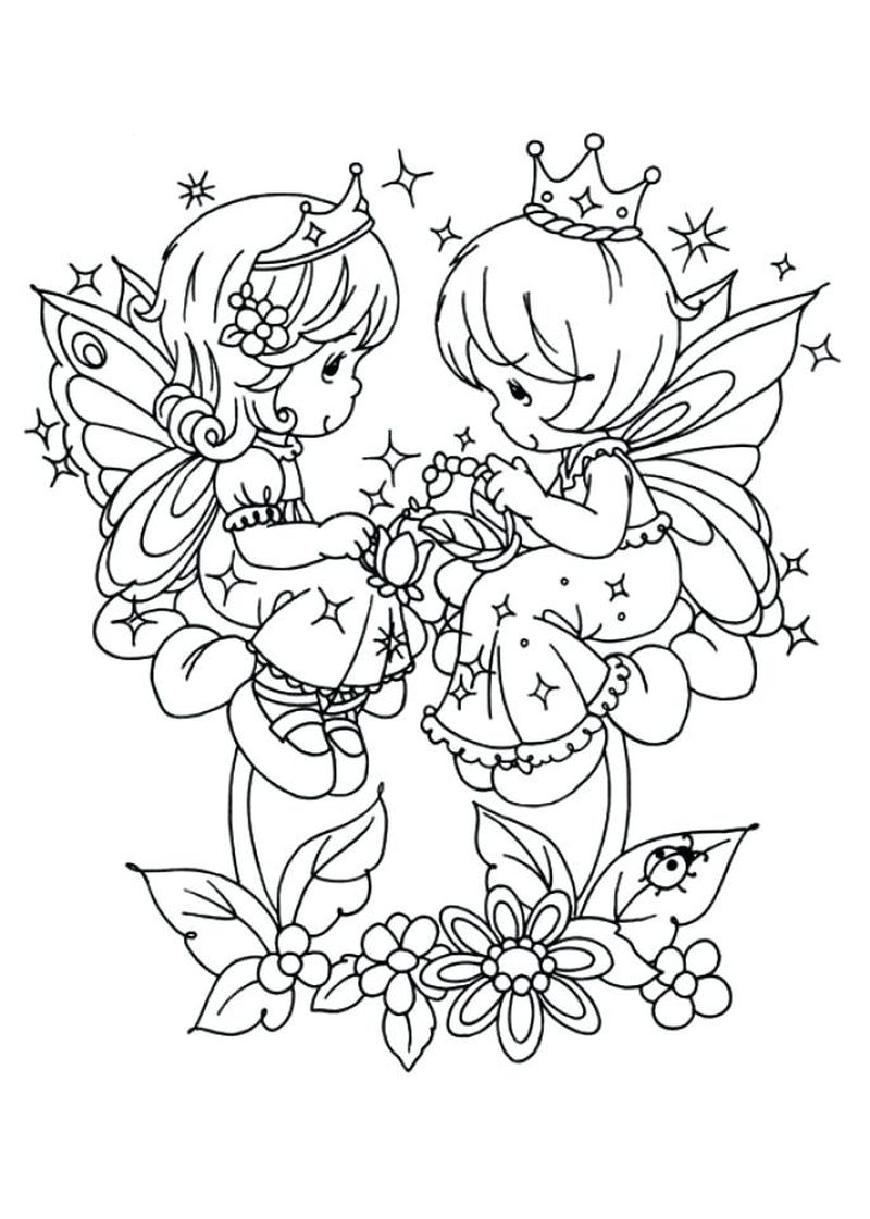 Angel Wing Coloring Pages