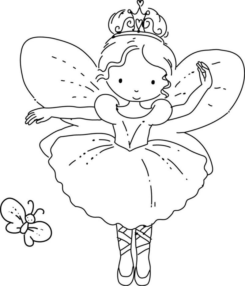 Angelina Ballerina Christmas Coloring Pages