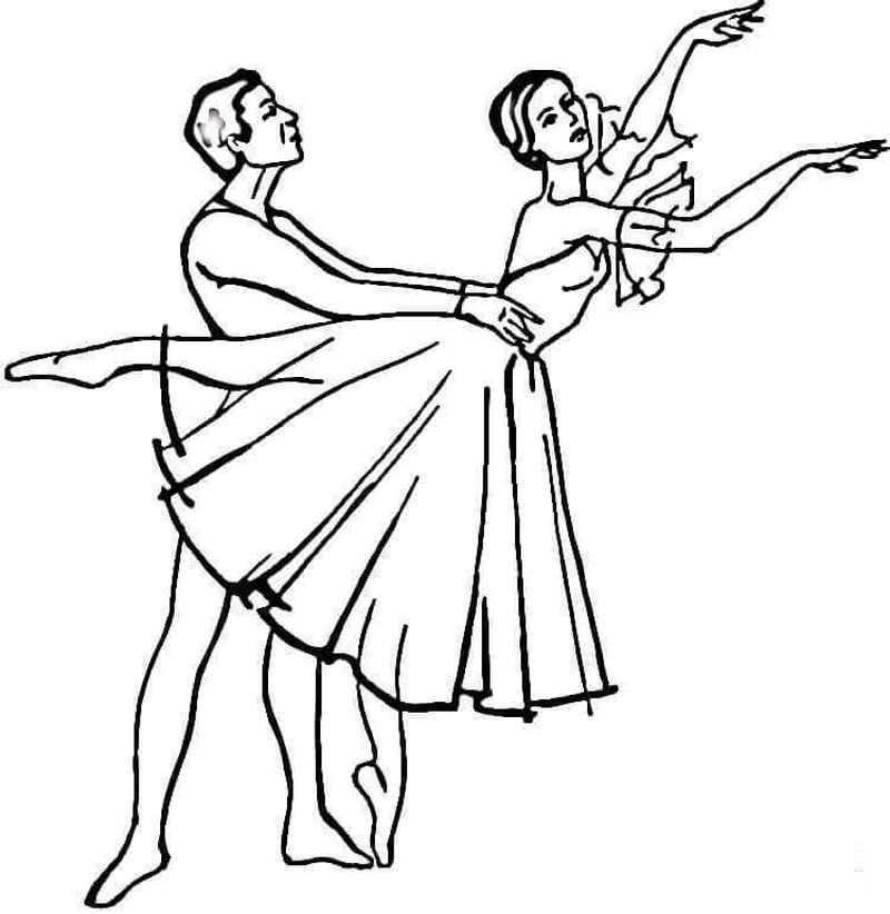 Angelina Ballerina Coloring Pages For Kids