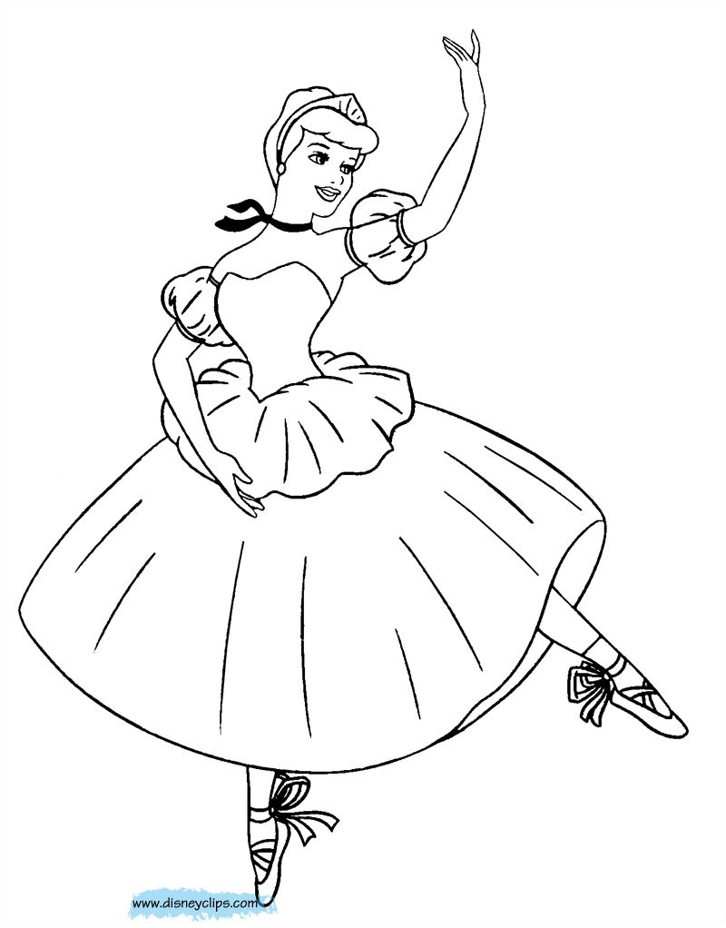 Angelina Ballerina Coloring Pages Online