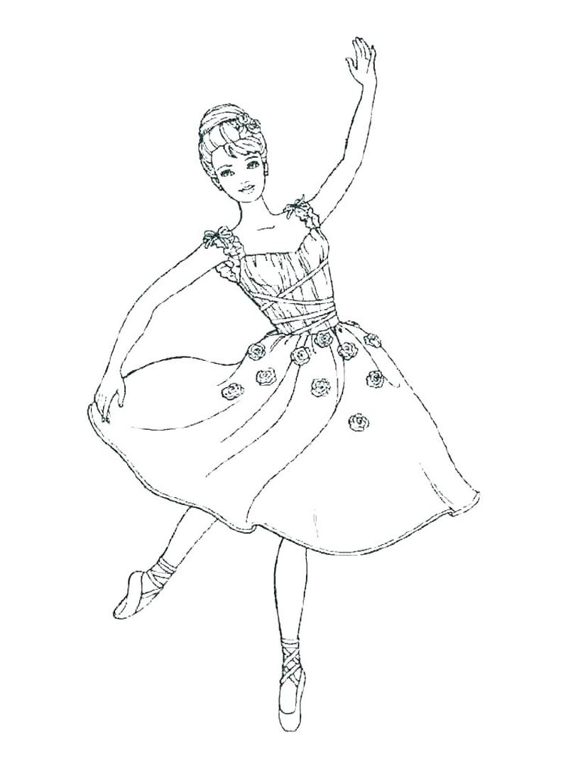Angelina Ballerina Coloring Pages To Print