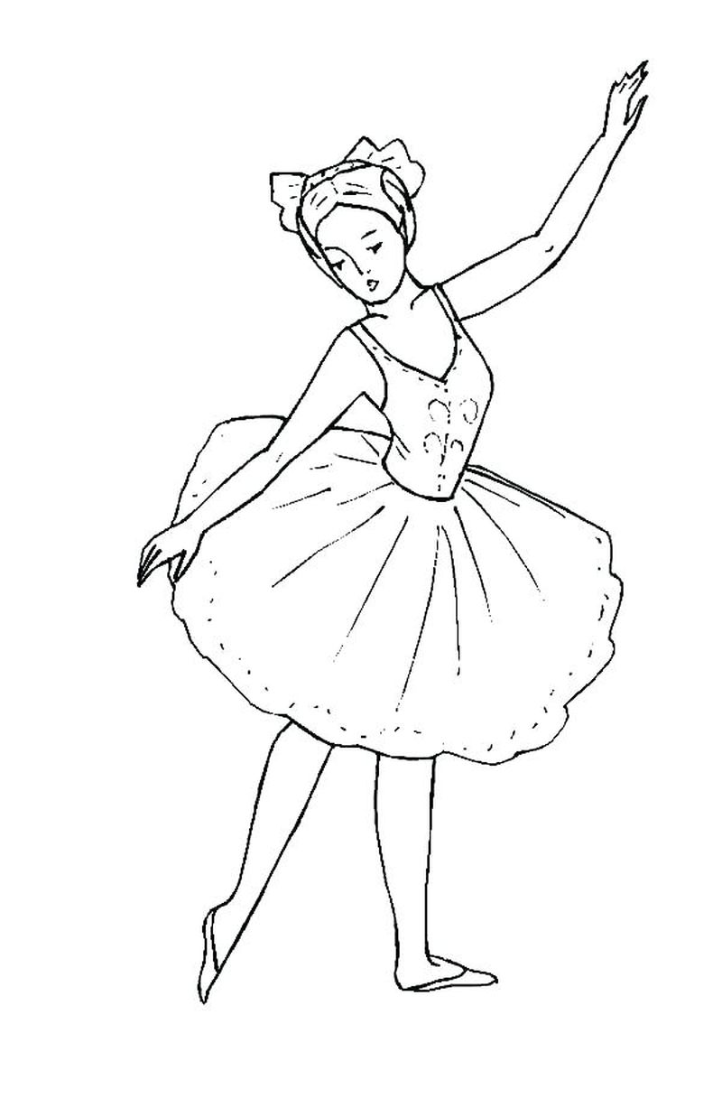 Angelina Ballerina Printable Coloring Pages