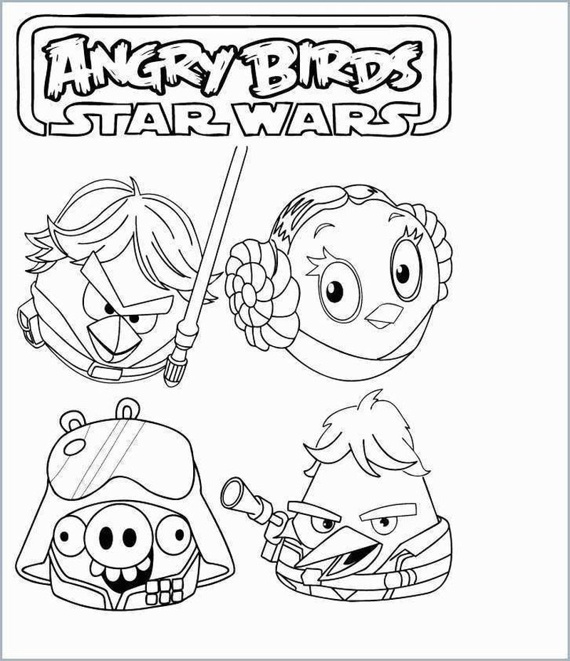 Angry Birds Pig Coloring Pages