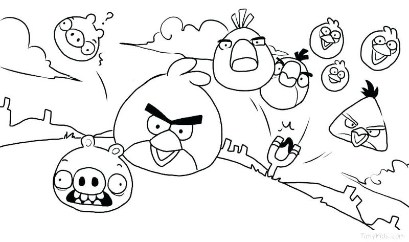 Angry Birds Space Coloring Pages Games