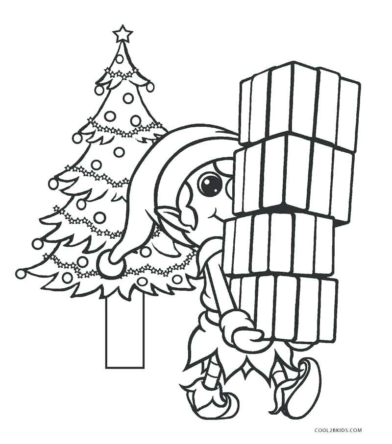 Anime Elf Coloring Pages