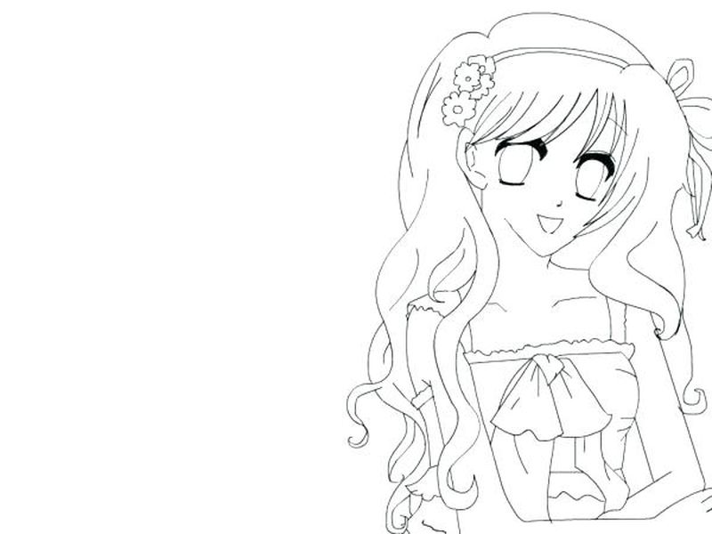 Anime Girl Chibi Vampire Goth Coloring Pages