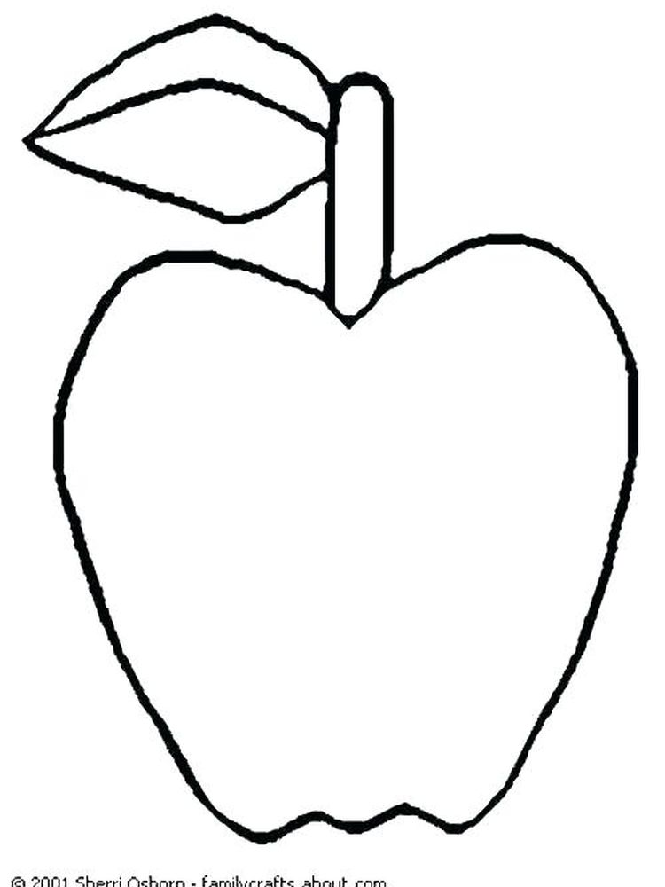 Apple Bloom Coloring Page Free