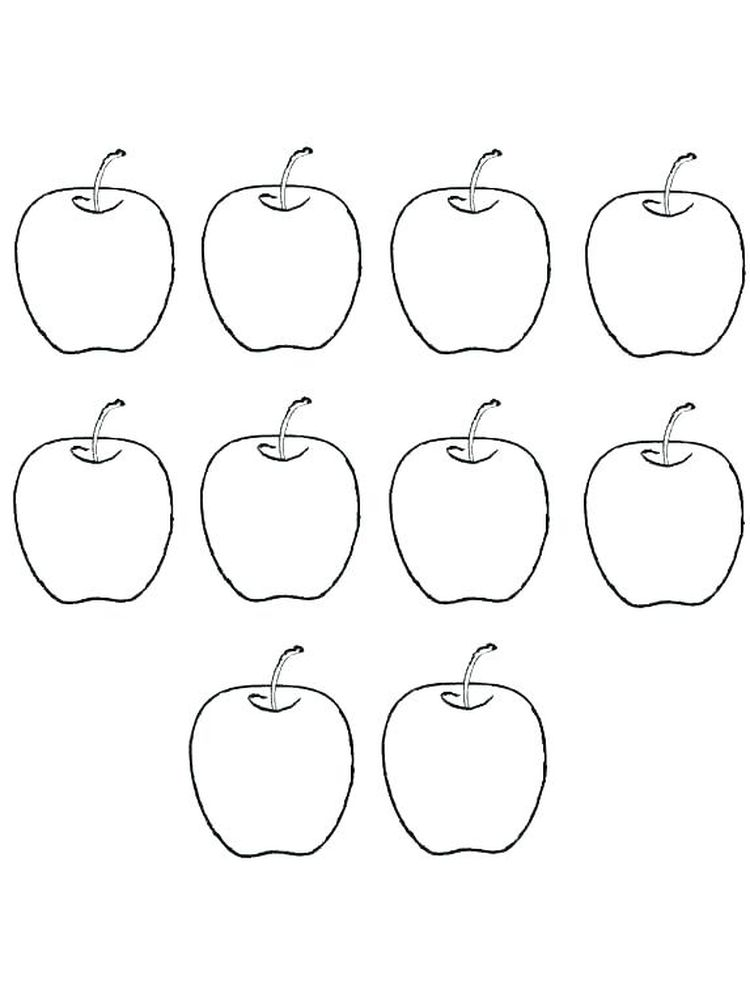 Apple Blossom Coloring Page Free