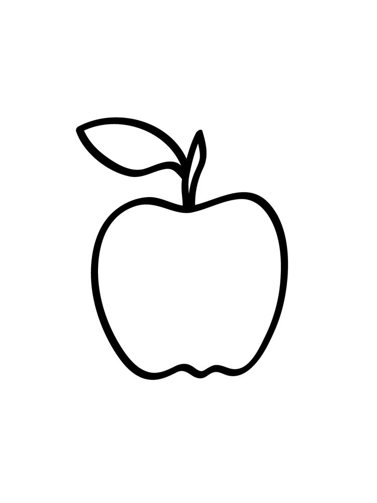 Apple Coloring Pages Pdf Free