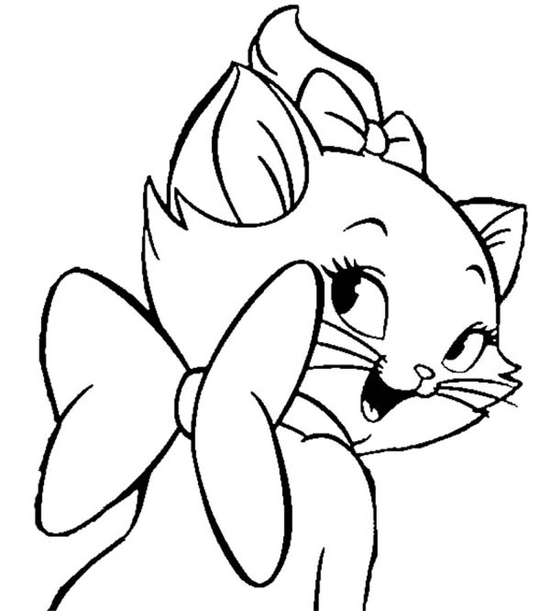 Aristocats Coloring Pages For Kids