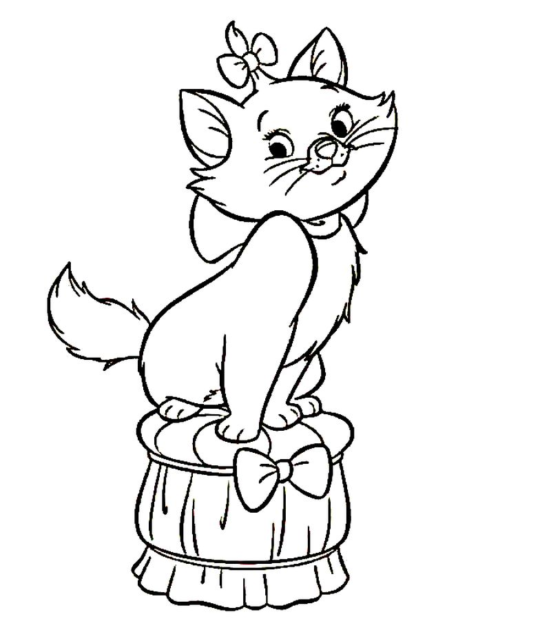 Aristocats Coloring Pages Printable