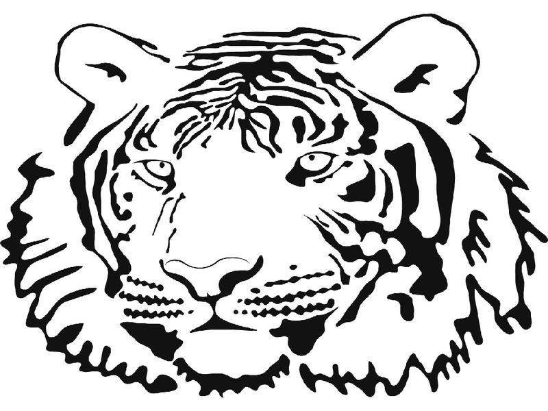 Ata Tiger Coloring Pages