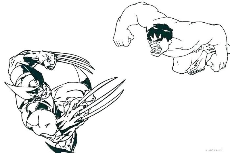 Avengers Movie Coloring Pages