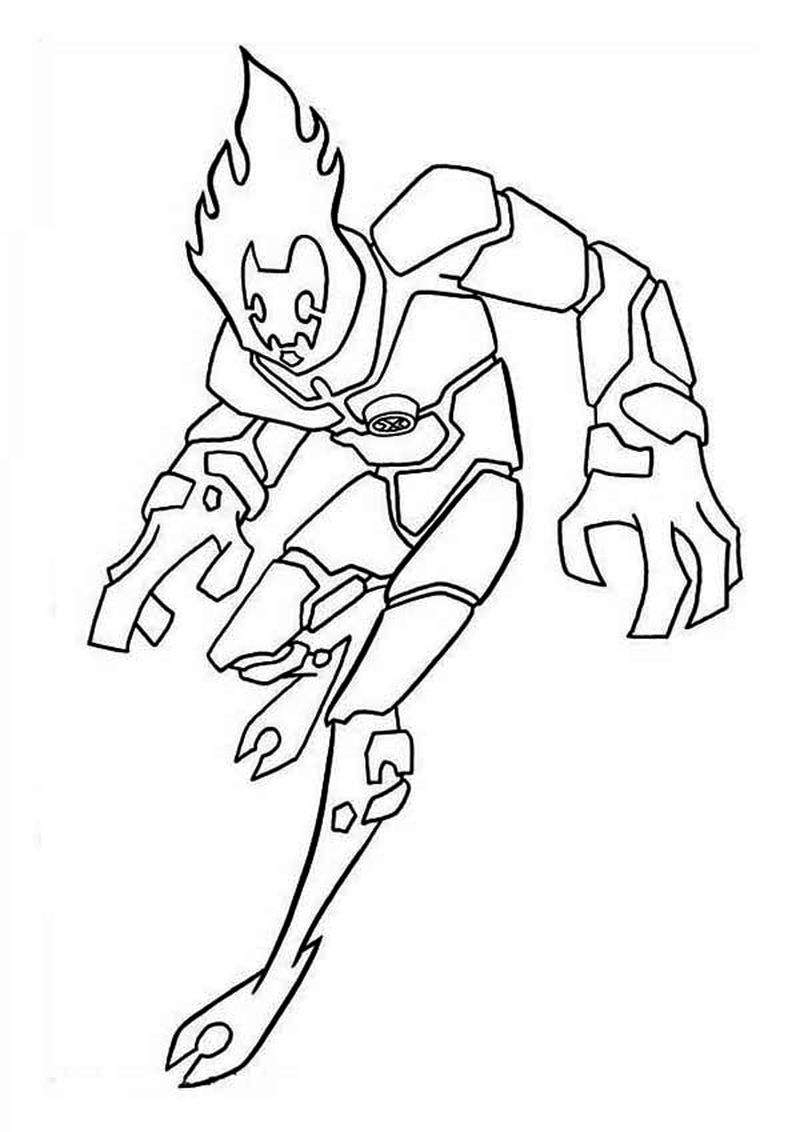 Awesome Ben 10 Coloring Pages