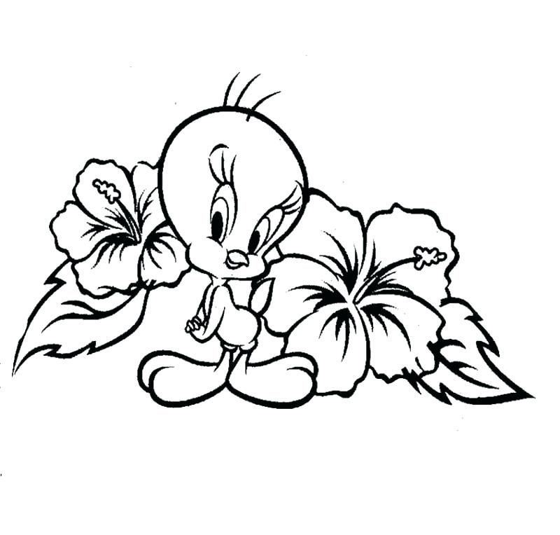 Baby Tweety Coloring Pages