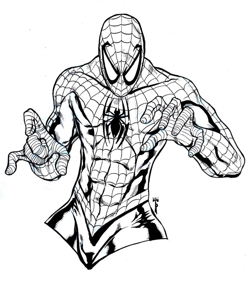 Baby Venom Coloring Pages