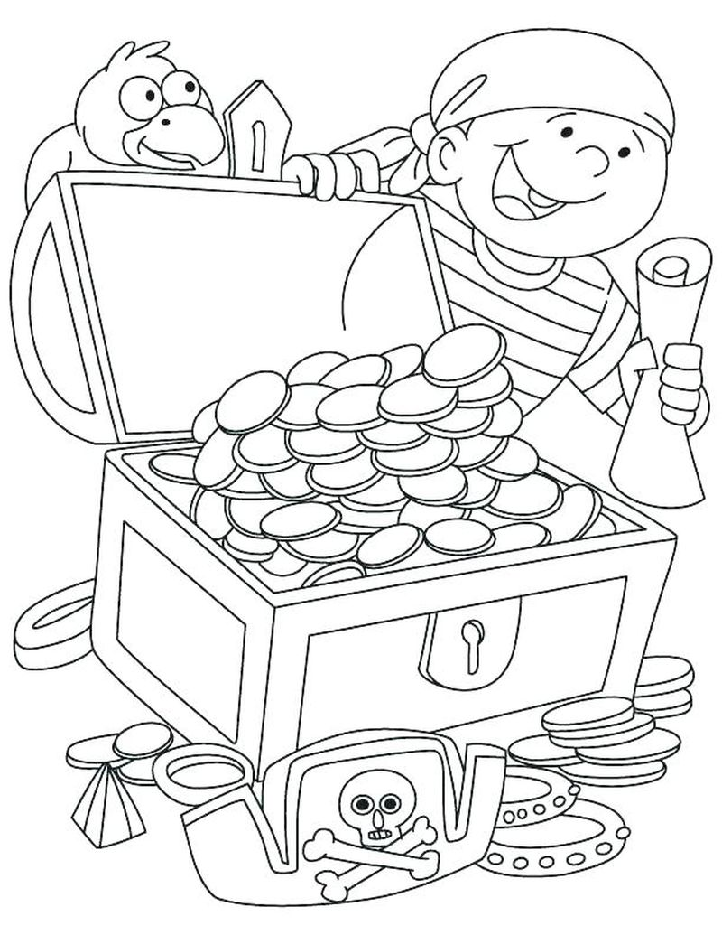 Backyardigans Pirate Coloring Pages