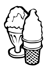 Bad Ice Cream Coloring Pages