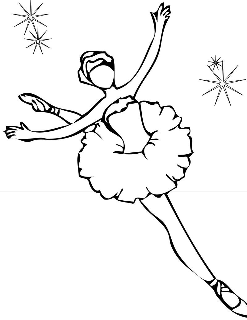 Ballerina Movie Coloring Pages
