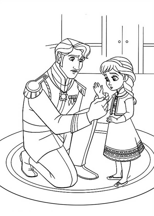 Barbie And Elsa Coloring Pages