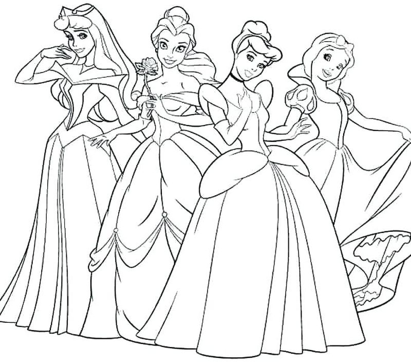 Barbie Coloring Pages Free Printable