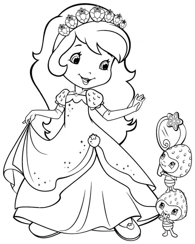 Barbie Coloring Pages Print