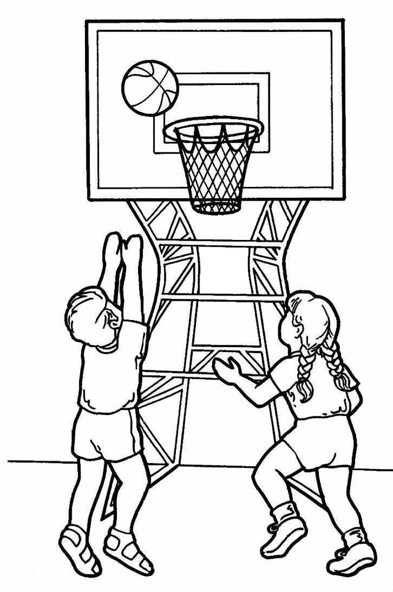 Basketball Jerseys Coloring Pages