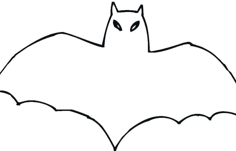 Bat Coloring Pages For Teens