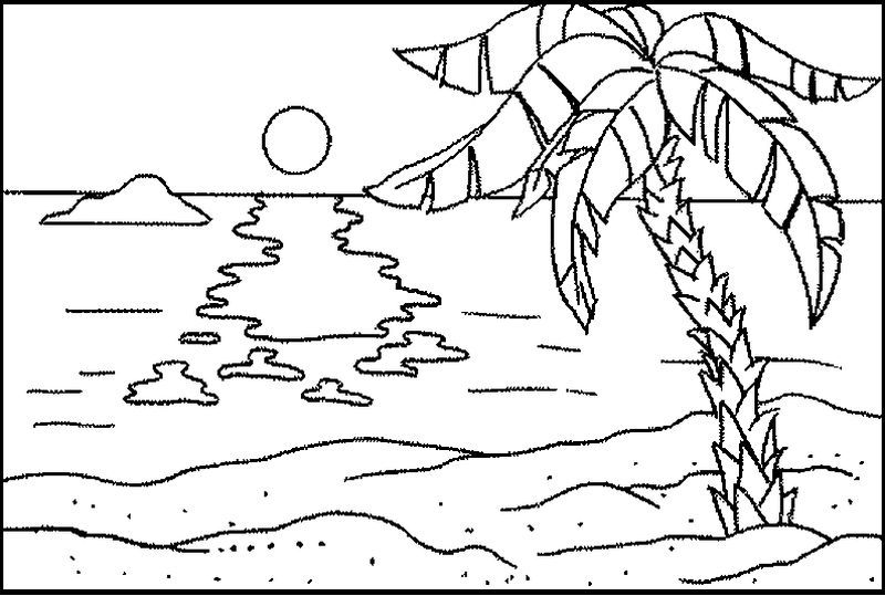Beach Ball Coloring Pages For Adults