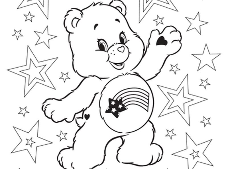 Bear Faces Coloring Pages