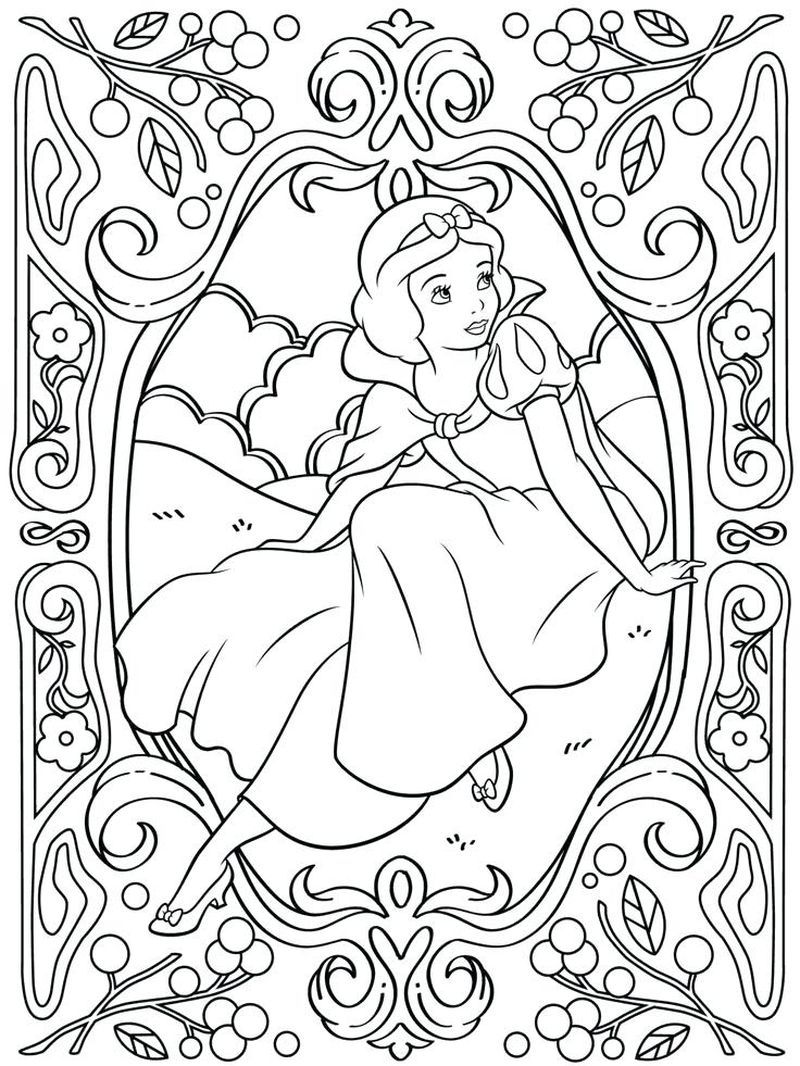 Belle Coloring Pages Online