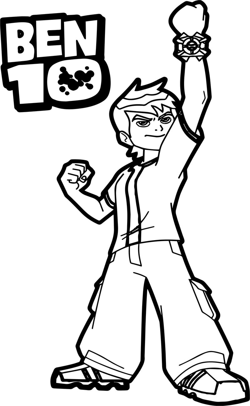 Ben 10 Benmummy Coloring Pages