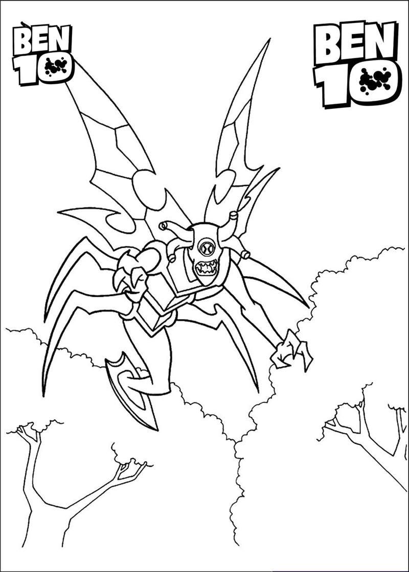Ben 10 Coloring Pages To Print