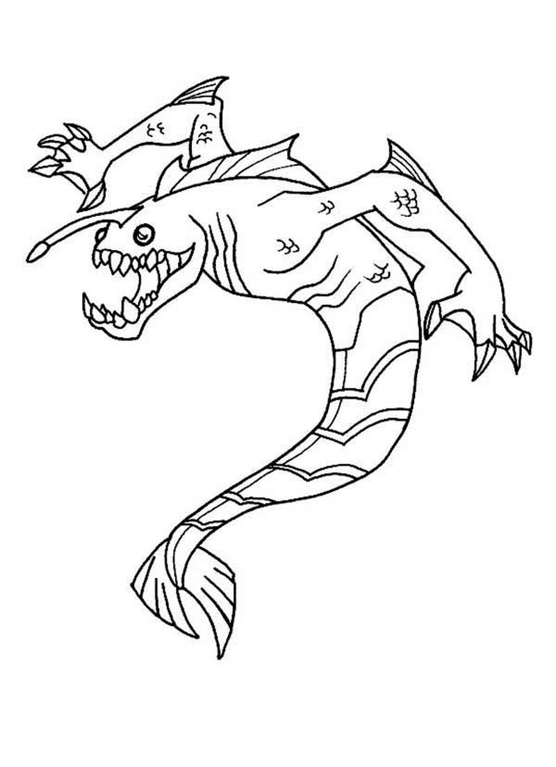 Ben 10 Colouring Pages Free