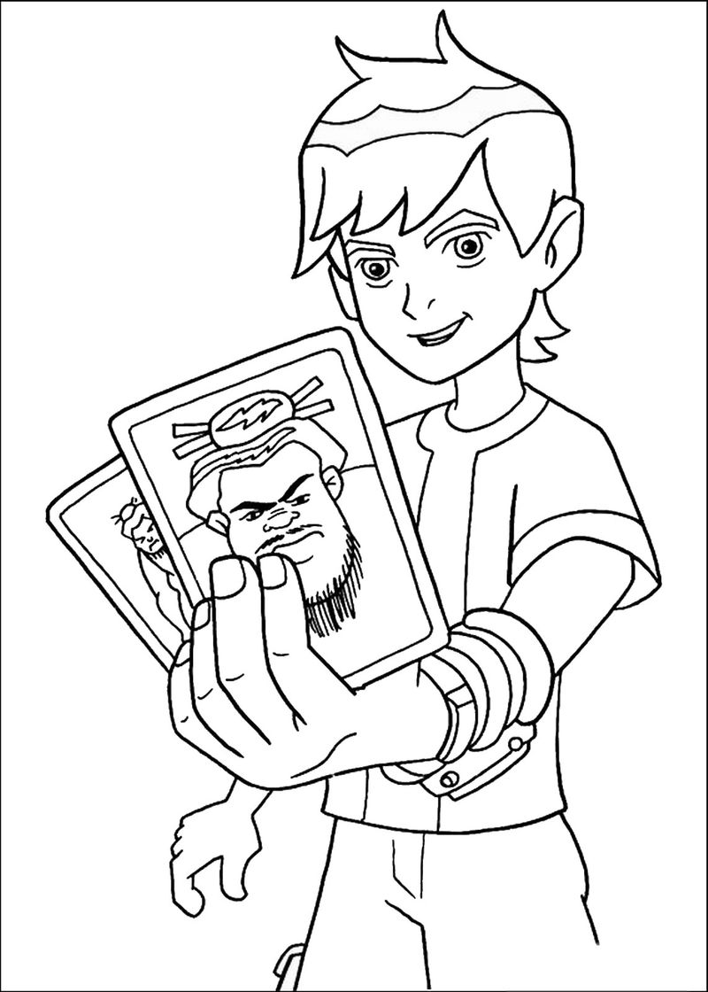 Ben 10 Ditto Coloring Pages