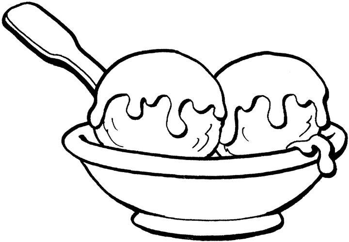 Big Ice Cream Coloring Pages
