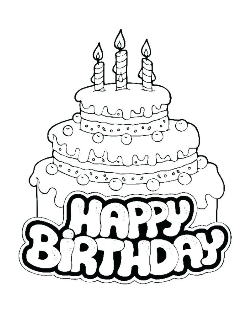 Birthday Coloring Pages Crayola