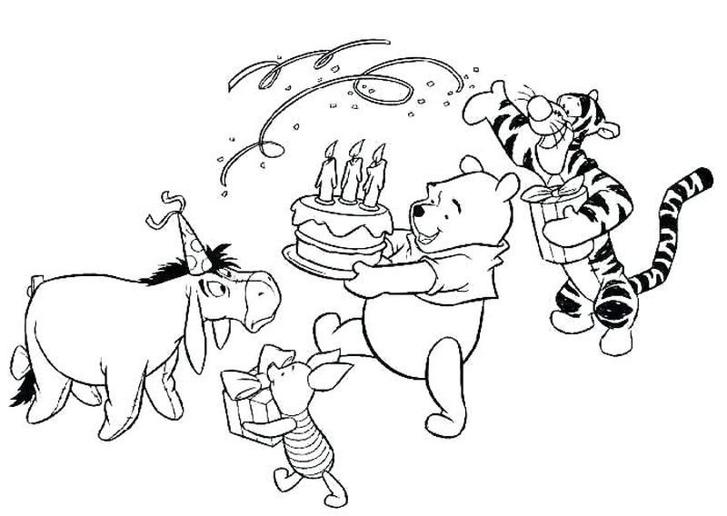 Birthday Coloring Pages For Grandpa